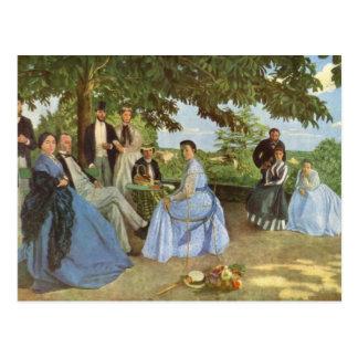 The Family Reunion, Frederick Bazille Postcard
