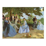 The Family Reunion, Frederick Bazille Postcards
