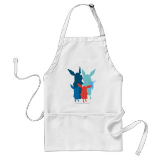 The Family - Silhouette Adult Apron