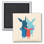 The Family - Silhouette Fridge Magnet