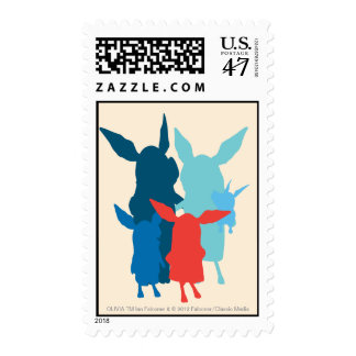 The Family - Silhouette Postage