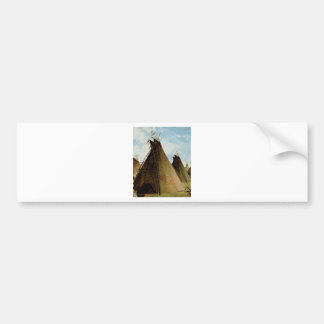 the family tepee bumper sticker