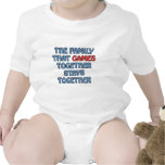 The Family That Games Together Tshirts