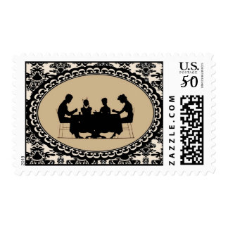 The Family that Prays Together Postage