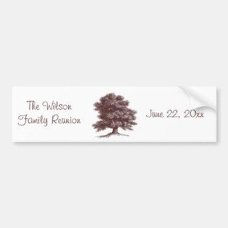 The Family Tree Bumper Sticker