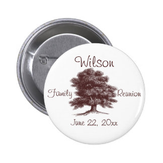 The Family Tree Pinback Buttons