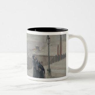 The Famine between 1870-71, 1889 Two-Tone Coffee Mug