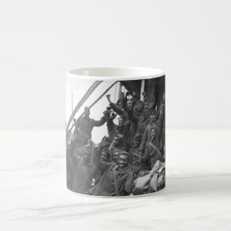 The famous 369th arrive in N.Y. City_War Image Coffee Mug