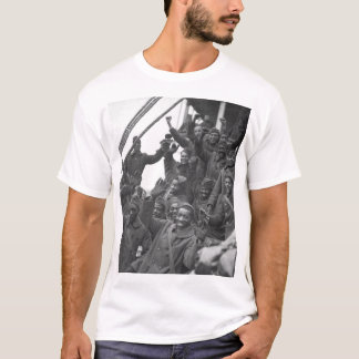 The famous 369th arrive in N.Y. City_War Image T-Shirt