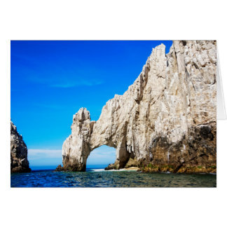 The Famous Arch In Cabo San Lucas Card