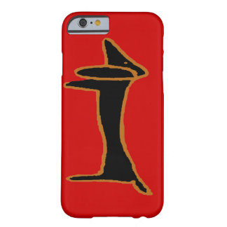 The Famous Black Abstract Dachshund Barely There iPhone 6 Case