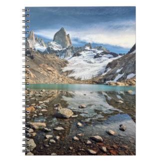 The Famous Fitz Roy Spiral Notebook
