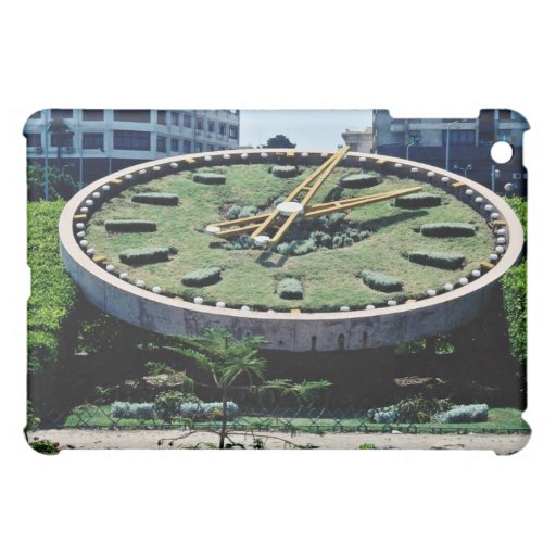 The famous Flowers Clock, Alexandria, Egypt flowe iPad Mini Cases