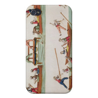 The Famous Joust between the Lancers iPhone 4 Covers