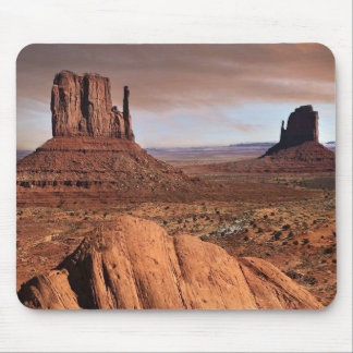 The famous mesas of Monument Valley, Utah. Mouse Pad