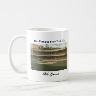The Famous Polo Grounds Baseball Park, New York Coffee Mug