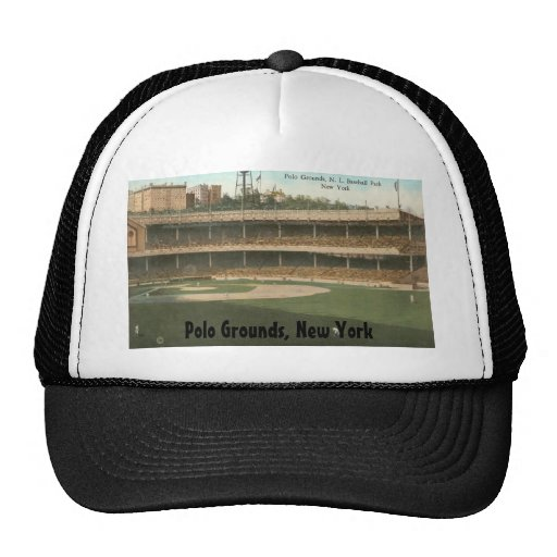 The Famous Polo Grounds Baseball Park, New York Mesh Hat