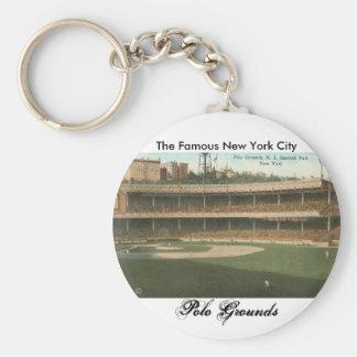 The Famous Polo Grounds Baseball Park, New York Keychain