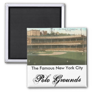 The Famous Polo Grounds Baseball Park, New York Magnets