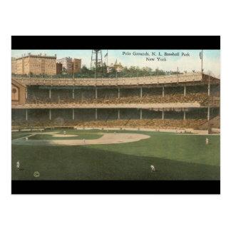 The Famous Polo Grounds Baseball Park, New York Postcard