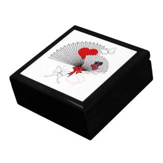 The Fan and The Butterflies Keepsake Box