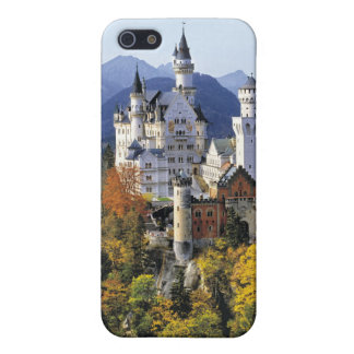 The fanciful Neuschwanstein is one of three Cover For iPhone SE/5/5s