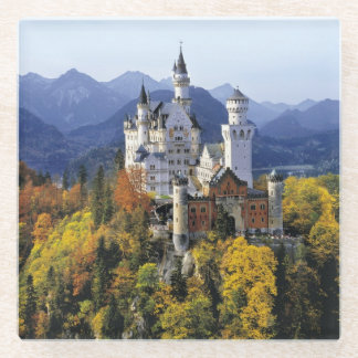 The fanciful Neuschwanstein is one of three Glass Coaster