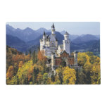 The fanciful Neuschwanstein is one of three Placemat<br><div class='desc'>The fanciful Neuschwanstein is one of three castles built by King Ludwig II in Bavaria,  Germany | COPYRIGHT Ric Ergenbright / DanitaDelimont.com</div>