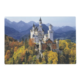 The fanciful Neuschwanstein is one of three Placemat