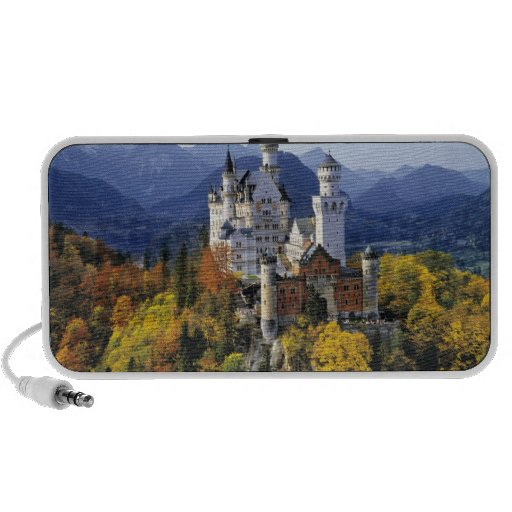 The fanciful Neuschwanstein is one of three Mini Speakers
