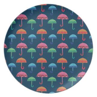 The Fancy Umbrella Dinner Plate