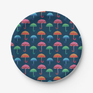 The Fancy Umbrella Paper Plate