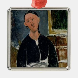 The Fantasist (oil on canvas) Metal Ornament