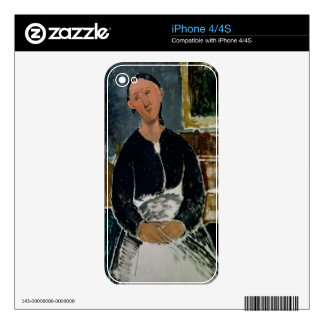 The Fantasist (oil on canvas) Skins For iPhone 4S