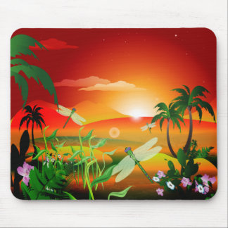 The fantasy world mouse pad