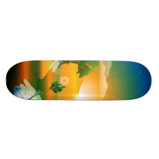 The fantasy world skateboard deck