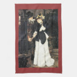 The farewell by James Tissot Hand Towel