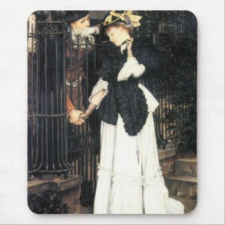 The farewell by James Tissot Mouse Pad