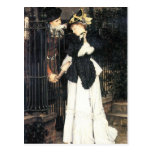 The farewell by James Tissot Postcard