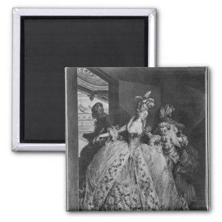 The Farewells 2 Inch Square Magnet