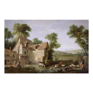 The Farm, 1750 Poster