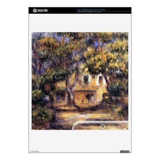 The farm at Les Collettes by Pierre Renoir PS3 Slim Decals
