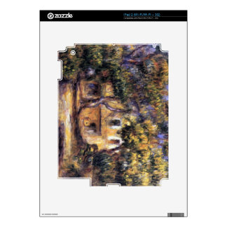The farm at Les Collettes by Pierre Renoir Skin For iPad 2