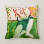 """""""The Farm Boy"""" by Zermeno Pillows"""