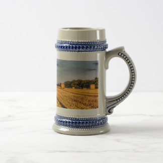 The farm in summer beer stein