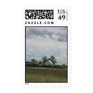 The Farm Life Postage Stamp