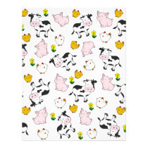 The Farm Pattern Letterhead