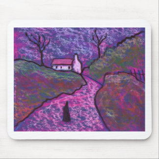 THE FARM ROAD MOUSE PAD