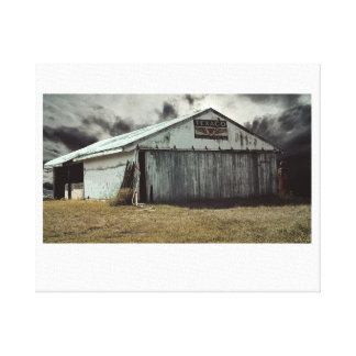 The Farm Shed Canvas Print