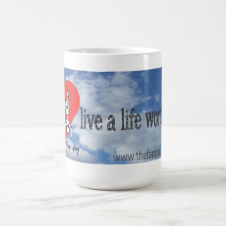 The Farmer and The Yogi- A Life Worth Loving- Mug